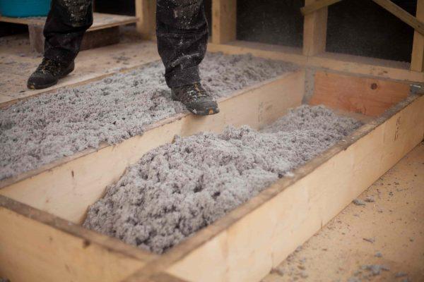 laine pulsée dans les combles pour isoler le toit, Isolation à Pessac
