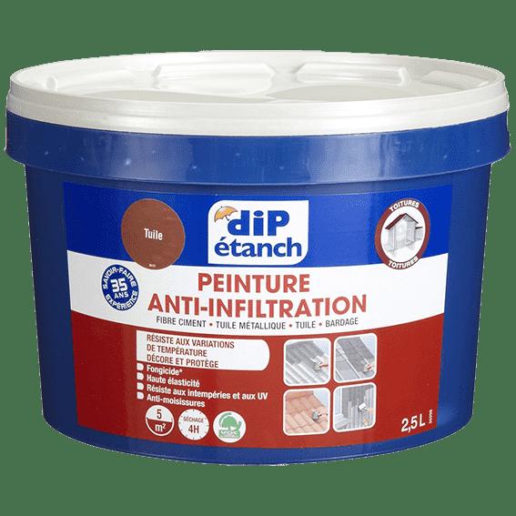 pot de peinture anti infliltration