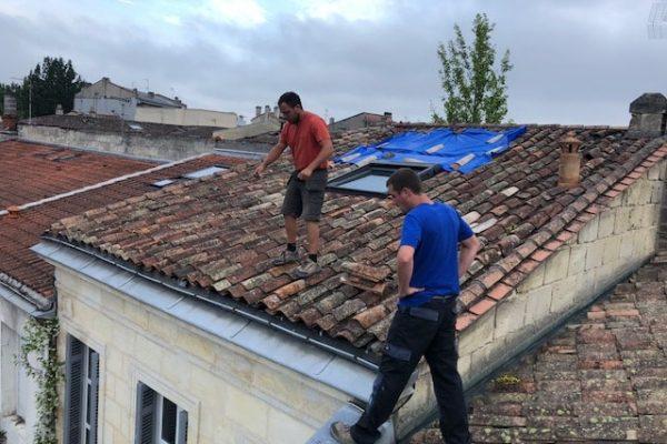 Réparation de toiture par Dominique Rénovation